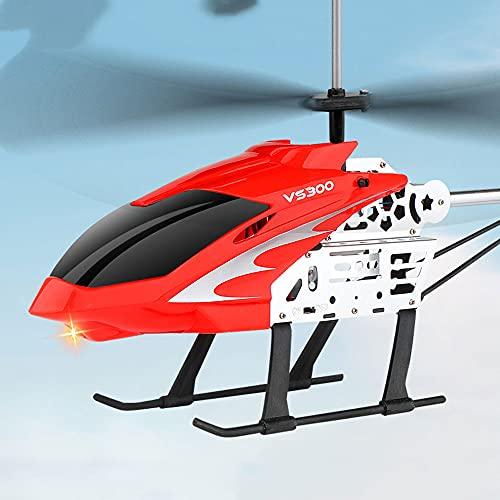 Elicottero a 3,5 canali,Elicotteri RC hobby,Aeroplano telecomandato,Gigante di grandi dimensioni da esterno con giroscopio a LED Luce radiocomando Ricarica per aereo elettrico Drone Principiante Ragaz