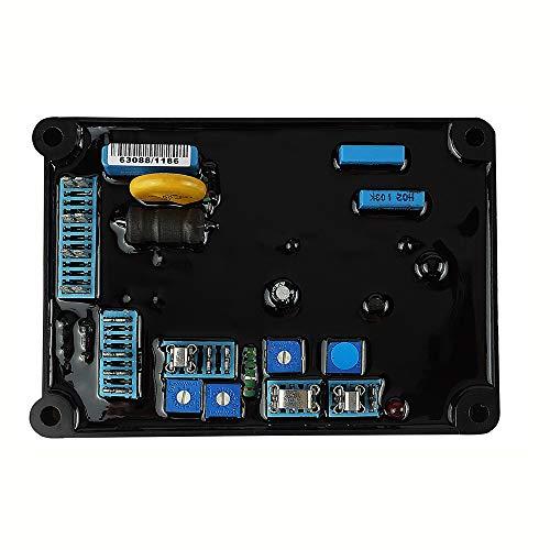 KKmoon Regulador Automático de Voltaje de Alto Rendimiento AVR AS480 Reemplazo Estable para Estabilizadores de Generador Componentes y Suministros Electrónicos AVR Universal para AS480