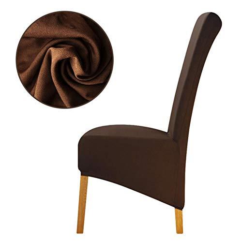 XL-formaat goedkope stoelhoes groot formaat lange rug Europa-stijl stoelstoelhoezen Universeel restaurant Hotelfeest Thuisbanket, 0850-24, XL-formaat