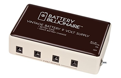 Danelectro Billionaire BAT-1 Battery Billionaire Pedal Power Supply