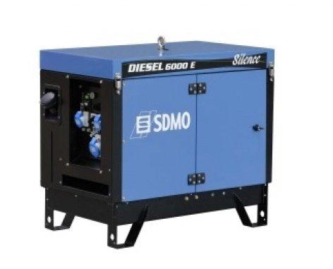 SDMO GENERADOR PORTATIL Diesel 15000 TE Silence | 10000W