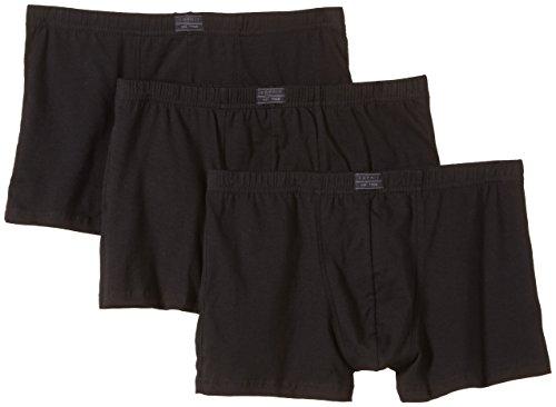 ESPRIT Bodywear Herren Retroshorts Value Pack, 3er Pack, Schwarz (001), Large (Herstellergröße: 6)
