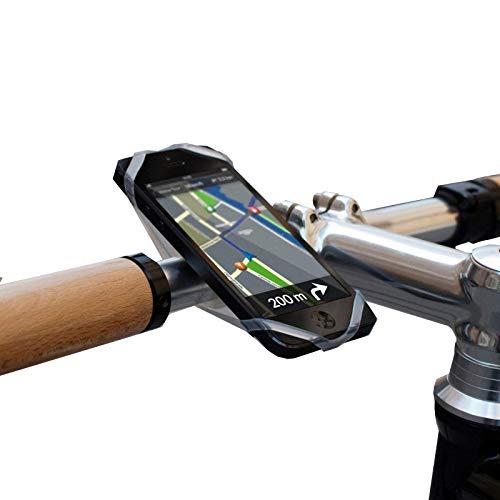 Finn Universele mobiele telefoonhouder voor de fiets, inclusief Bike City Guide app, transparant