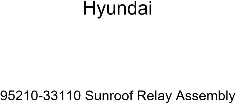 Hyundai 95210-33110 Max 68% OFF Sunroof Ultra-Cheap Deals Relay Assembly