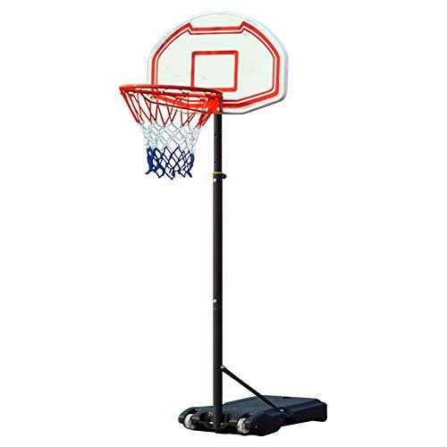 Yuefensu Canasta de Baloncesto Infantil de Interior, al Aire Libre desprendible y Ajustable Soporte del Baloncesto Aro de Baloncesto de Juguete (Color : Black, Size : One Size)