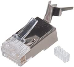 Cat6 and Cat6A Shielded RJ45 Connector Modular Plug -100 pcs
