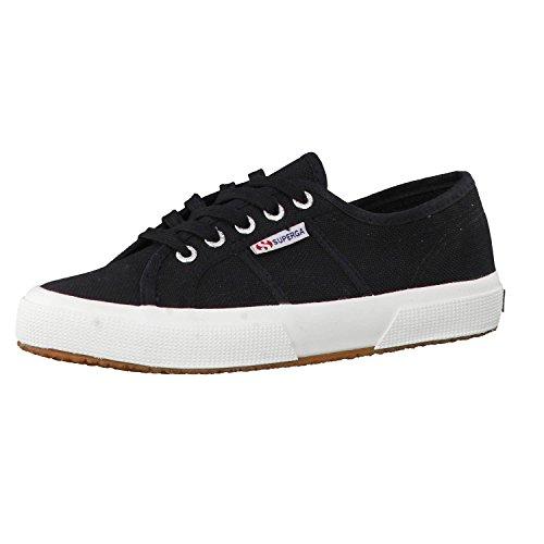 Superga 2750 COTU Classic Sneakers, Zapatillas Unisex Adulto, Negro F83, 37 EU