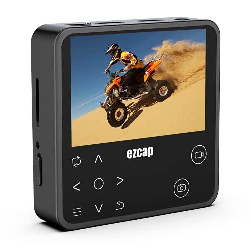 Y&H SDI HDMI Scheda di Acquisizione 1080P 60fps HD Record in Micro SD con schermo a colori da 3,5 ', capture card per fotocamera SDI,Switch, PS4, Xbox One, Wii U