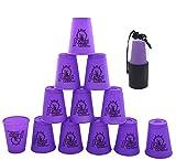 Stacks Cups 12 piezas, copas de apilamiento deportivas para entrenamiento, juego de velocidad, desafío, competición, fiesta
