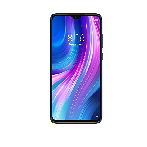 Redmi Note 8 Pro (Electric Blue, 6GB RAM, 64GB Storage with Helio G90T Processor) - 6 Month No Cost EMI