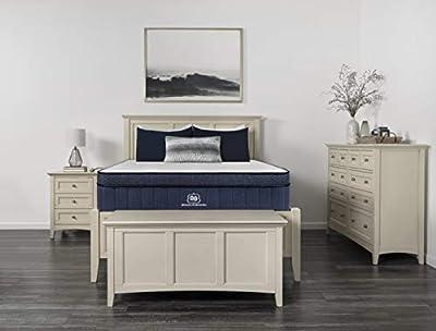 """Brooklyn Aurora 13"""" Luxury Cooling Gel Hybrid Mattress, Full Soft"""