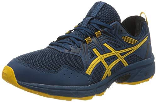Asics Gel-Venture 8, Zapatillas para Correr para Hombre, Mako Blue/Saffron, 46.5 EU