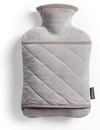 BYXAS Hot Water Bottle PVC 1 8 L Hot Water Bottle Hot Water Bag with Hand in Cover Ease Aches product image
