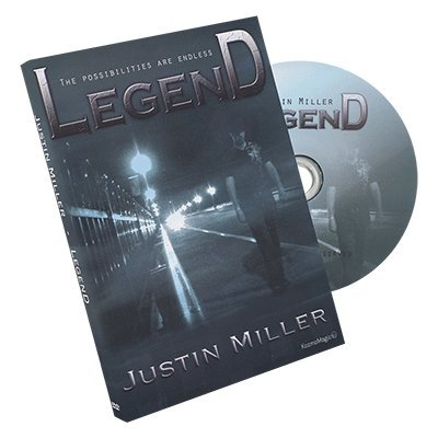 SOLOMAGIA Legend by Justin Miller and Kozmomagic - DVD and Gimmicks - DVD and Didactis - Trucos Magia y la Magia - Magic Tricks and Props