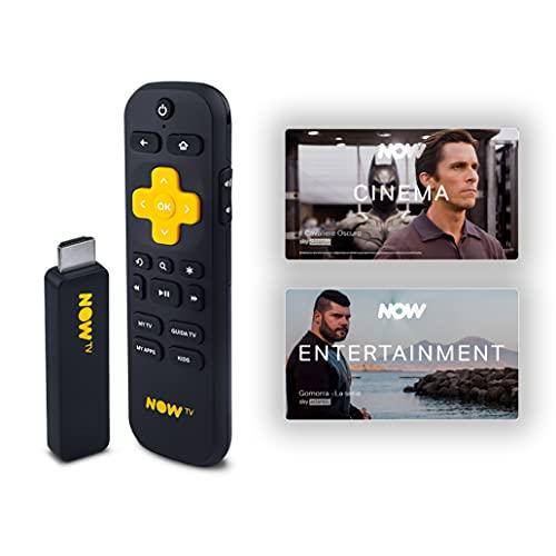 NOW TV Smart Stick mit den ersten 3 Monaten zur Auswahl zwischen Kino- oder Entertainment  Streaming-Stick   TV