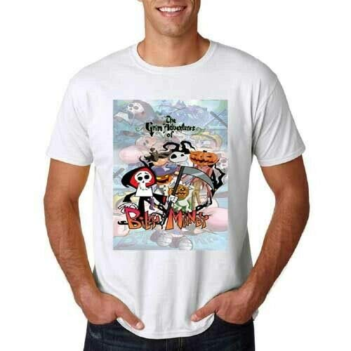 The Grim Adventures of Billy & Mandy Tshirt New Tee T-Shirt for Men's