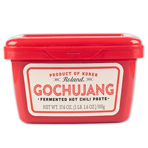 Roland Foods Gochujang, Korean Fermented Hot Chili Paste, 17.6 Oz