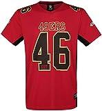 Majestic Athletic San Francisco 49ers NFL Moro Poly Mesh Jersey tee T-Shirt Trikot