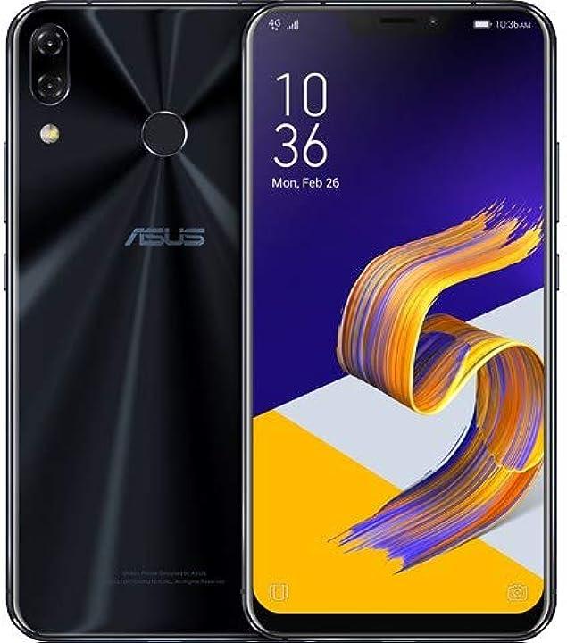 Smartphone da 64 gb rom 6 gb ram dual sim midnight blu [italia] asus zenfone 5z ZS620KL-2A020EU