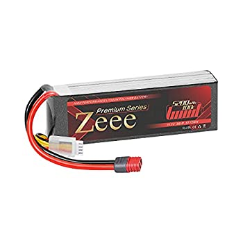 Zeee Premium Series 3S Lipo Battery 5200mAh 11.1V 100C Soft Case Battery with Deans T Connector for RC Plane Quadcopter RC Airplane RC Helicopter RC Car Truck Boat