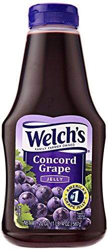 Welchs Grape Jelly Large 567g Squeezable Welch's