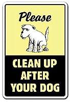 あなたの犬の犬のペットの後片付けプープクラップなし壁のブリキのサイン金属のポスターレトロなプラークの警告サインヴィンテージの鉄の絵画の装飾オフィスの寝室のリビングルームクラブのための面白いハンギングクラフト