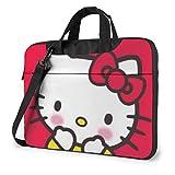 Shy Hello Kitty - Maletín para ordenador portátil (15,6 pulgadas)