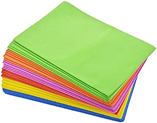 Crafters Square Foam Sheets for Arts and Crafting Projects (32 Sheets, 6 Assorted Colors)