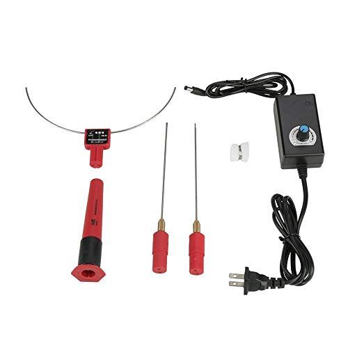 SEAAN Cortador de espuma de alambre caliente, cortador eléctrico Máquina de corte de poliestireno de espuma de poliestireno Cuchillo de alambre caliente Pluma de corte de espuma de poliestireno