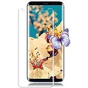 Galaxy S8 Screen Protector, Live2Pedal Galaxy S8 Screen Protector Tempered Glass[Anti-Scratch][Anti-Fingerprint][Bubble Free] Glass Screen Protector, for Samsung Galaxy S8