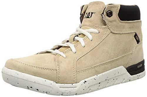 CAT Men Bolide Beige Leather Boots-8 UK/India (42 EU) (8033108)