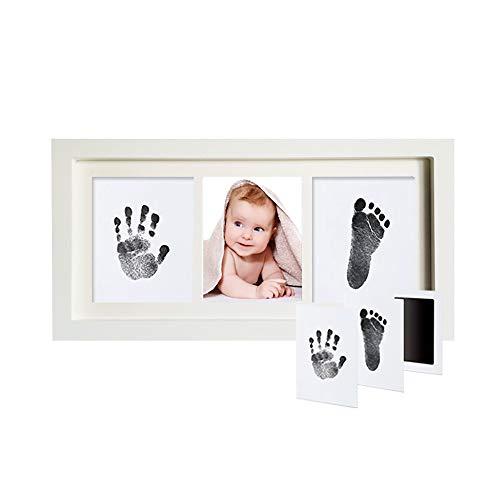 Kit cadre photo empreinte de main et empreinte béb Bébé mains et des pieds de main et pied Imprime Enfant de main et de pied Prints Huiles de lavage jetables Pas besoin de contacter le Skin immortalis