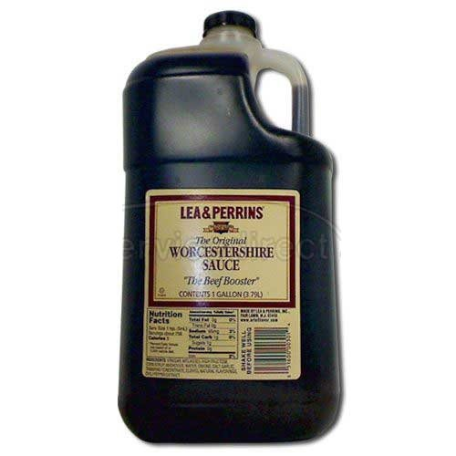 Lea & Perrins The Original Worcestershire Sauce, 1 Gallon (Pack of 3)