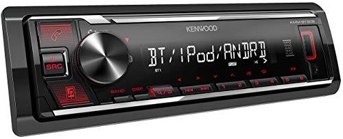 KENWOOD KMM-BT205, Autorradio, 1, Negro