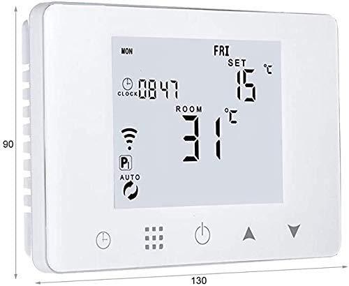 Cronotermostato digitale wi-fi da parete o per cassetta 503 alexa google ios android crono termostato