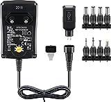 Goobay 53997 Universal Netzteil 1500mA 3V / 4,5V / 5V / 6V / 7,5V / 9V / 12V inkl. 8 Adapterstecker plus USB