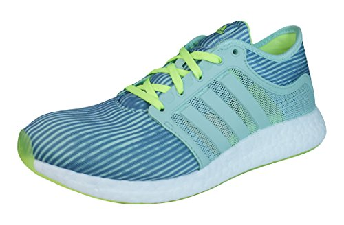 adidas Climachill Rocket Boost Damen Lauftrainer/Schuhe-Green-37.5