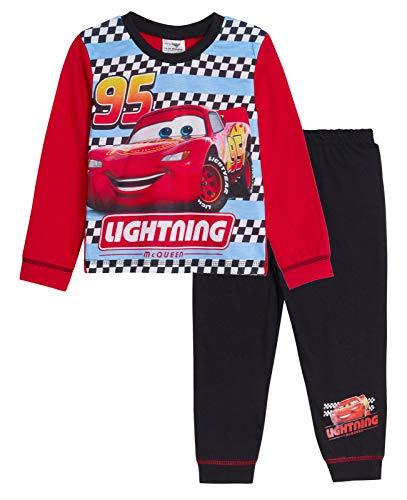 Disney Cars Jungen Pyjama lang Gr. 2-3 Jahre, 95 Lightning Mcqueen