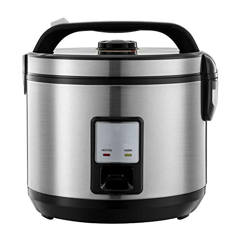yzf 4-Liter Rice Cooker, Black Portable, Fast Cooking, Removable Non-Stick Pan, Keep Warm, Suitable for 3~6 People-for Cooking Soup, Rice, Stew and Oatmeal