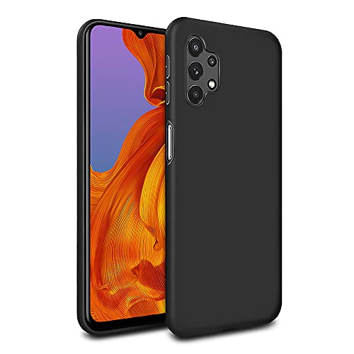 MC WHLZD für Samsung Galaxy A32 5G Hülle (Nicht für A32 4G), Mattierte Anti-Fingerabdrücke TPU Schutzhülle, Ultra Dünne Handyhülle Kompatibel mit Samsung Galaxy A32 5G, Schwarz