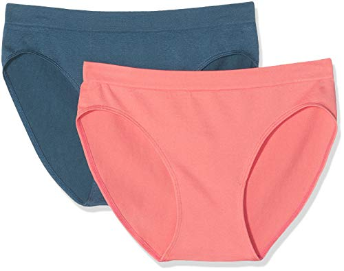 Unno DIM Basic Sin Costuras Micro Braguita (Pack de 2) para Mujer