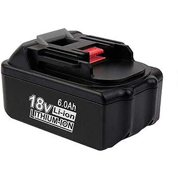 18V 6000mAh Li-ion Akku Für Makita BL1860 BL1850 BL1840 BL1830 BL1815 LXT400