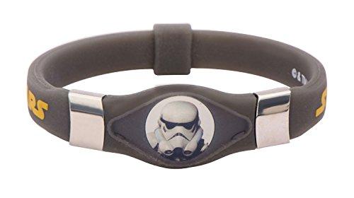 INOX Star Wars Rebels Stormtrooper Kids Silicone Glow Pulsera