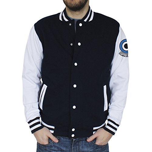 ABYstyle - Dragon Ball - Teddy - Capsule Corp Homme Navy/White (L)