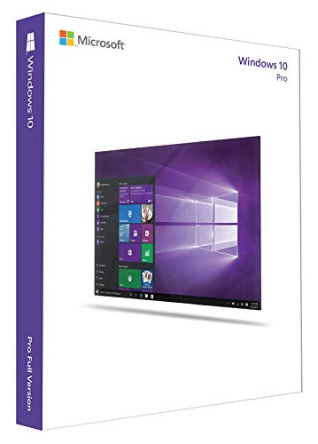 Microsoft Window's 10 Prefessional 64 Bit [import anglais]