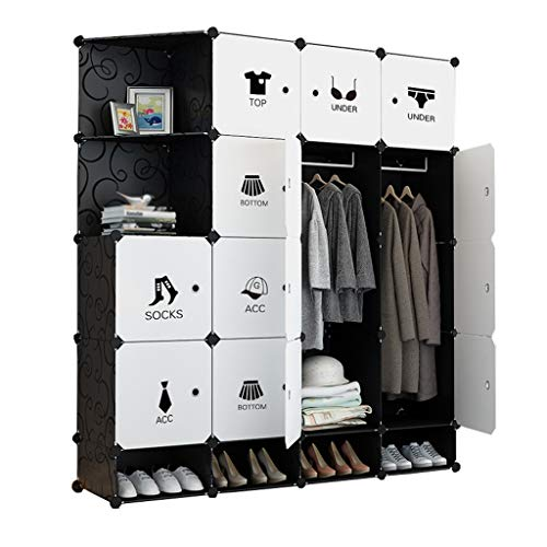 Read About Wardrobe Simplicity Shoes-bit Armoire Hanging Removable Storage Plastic Withdoor Divide-G...
