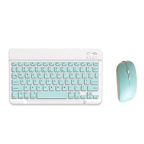 Juego ligero del teclado del ratón teclado 7 pulgadas Tablet Pc teléfono móvil estable teclado inalámbrico general y ratón