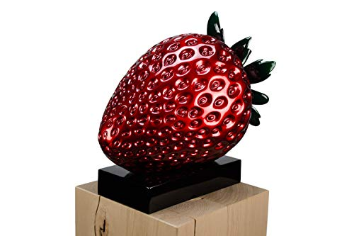 KunstLoft® Skulptur 'Strawberry Seduction' 44x39x28cm handgefertigt Figur