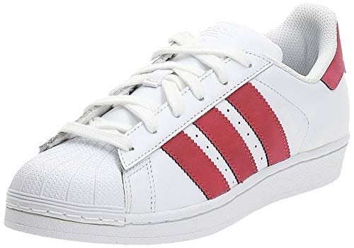 adidas Superstar J, Scarpe da Ginnastica Basse Unisex-Adulto, Bianco (White Cq2690), 38 EU