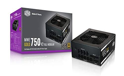 Cooler Master MWE GOLD V2 750 Full Modular 750W PC電源ユニット 5年保証 80PLUS GOLD MPE-7501-AFAAG-JP PS982